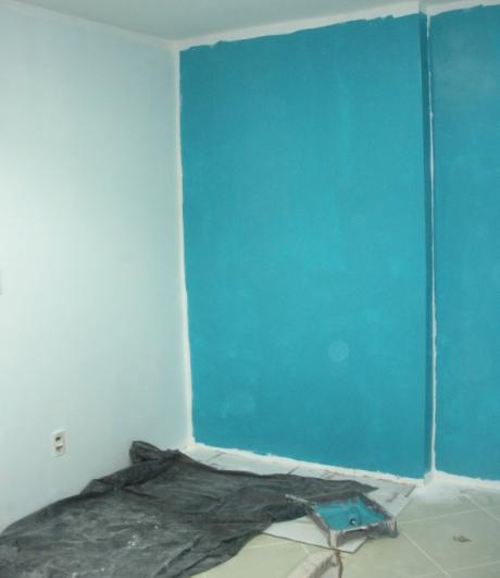 Tintas da Sala e Quarto a saga do apartamento ~ Quarto Pintado De Verde Musgo