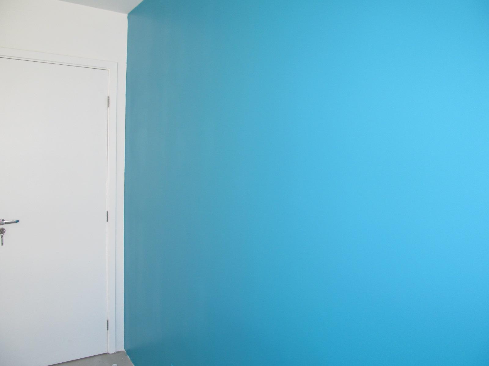 Coral Azul Praia ~ Quarto Pintado Coral Pluma de Pav u00e3o a saga do apartamento