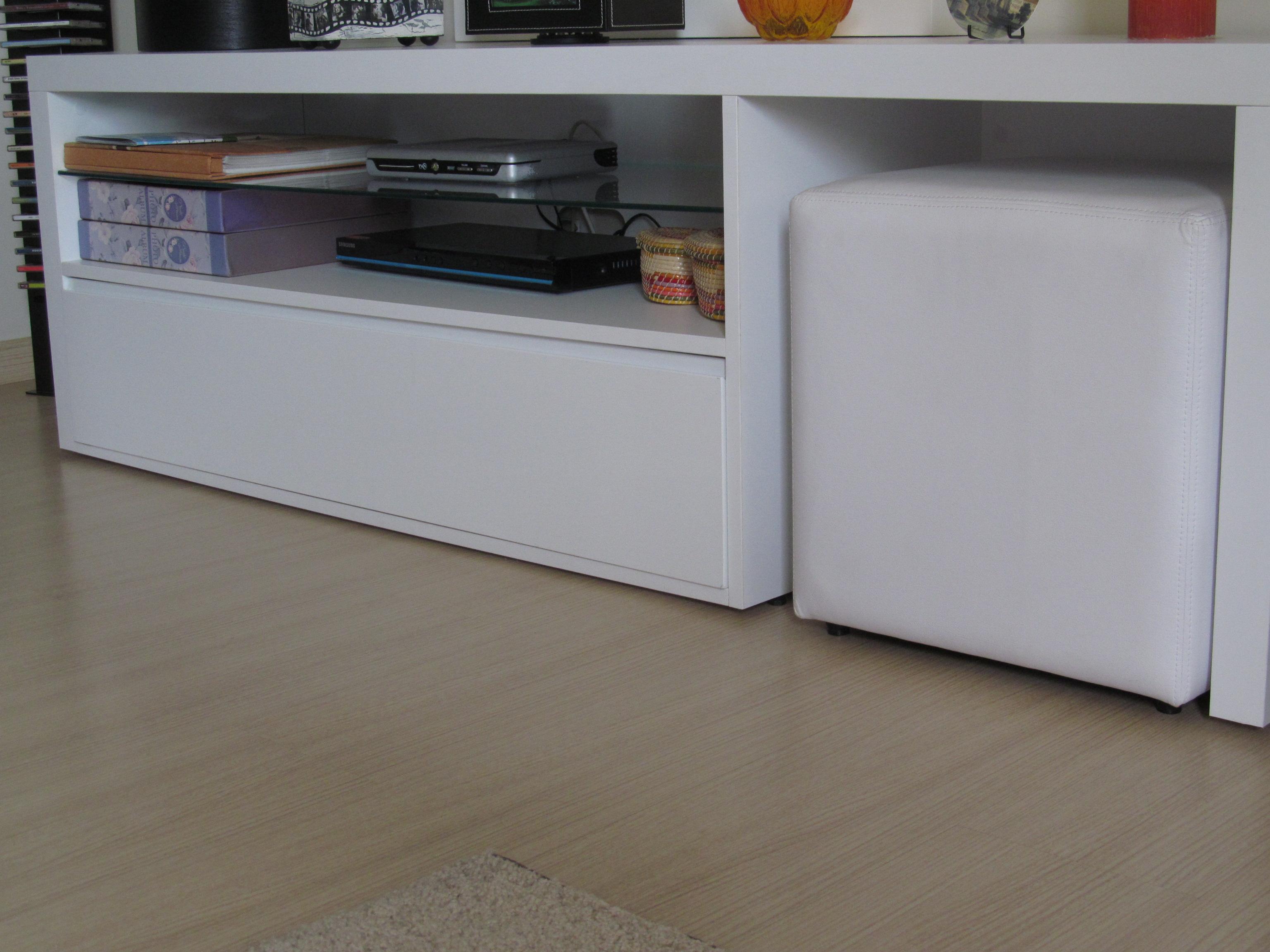 Objetos de desejo Rack para Sala a saga do apartamento ~ Rack Quarto Branco