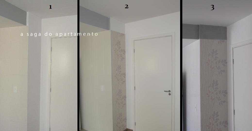 Retoque na pintura das paredes a saga do apartamento - Pintura de pared ...