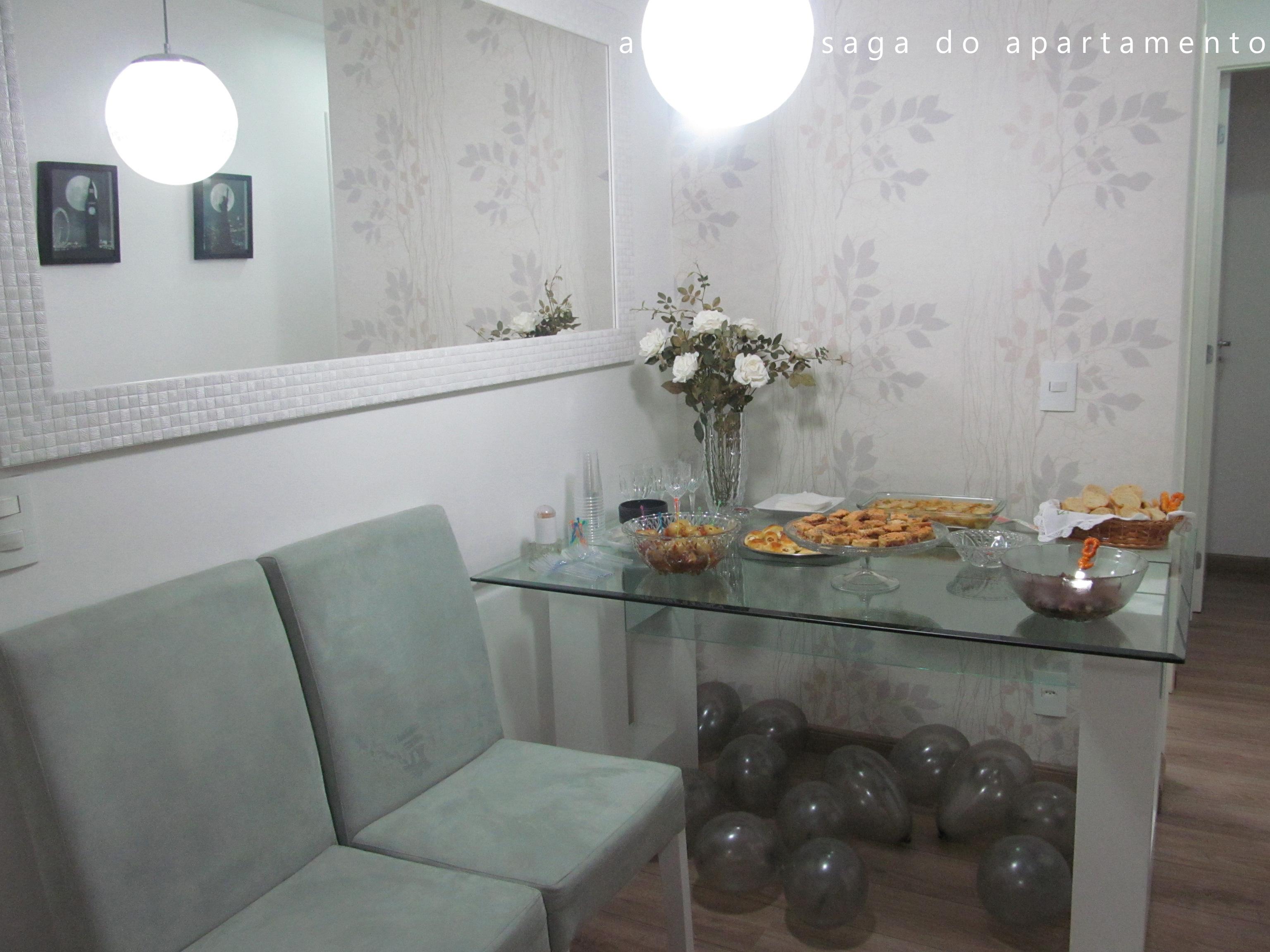 Sala De Estar E Jantar Apartamento Pequeno Projeto Para Interiores  -> Modelo De Forro Rebaixado Em Apartamentos 51M2