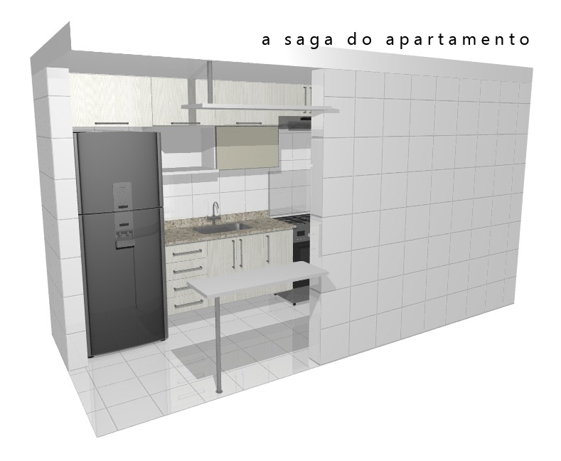 cozinha planejada | a saga do apartamento