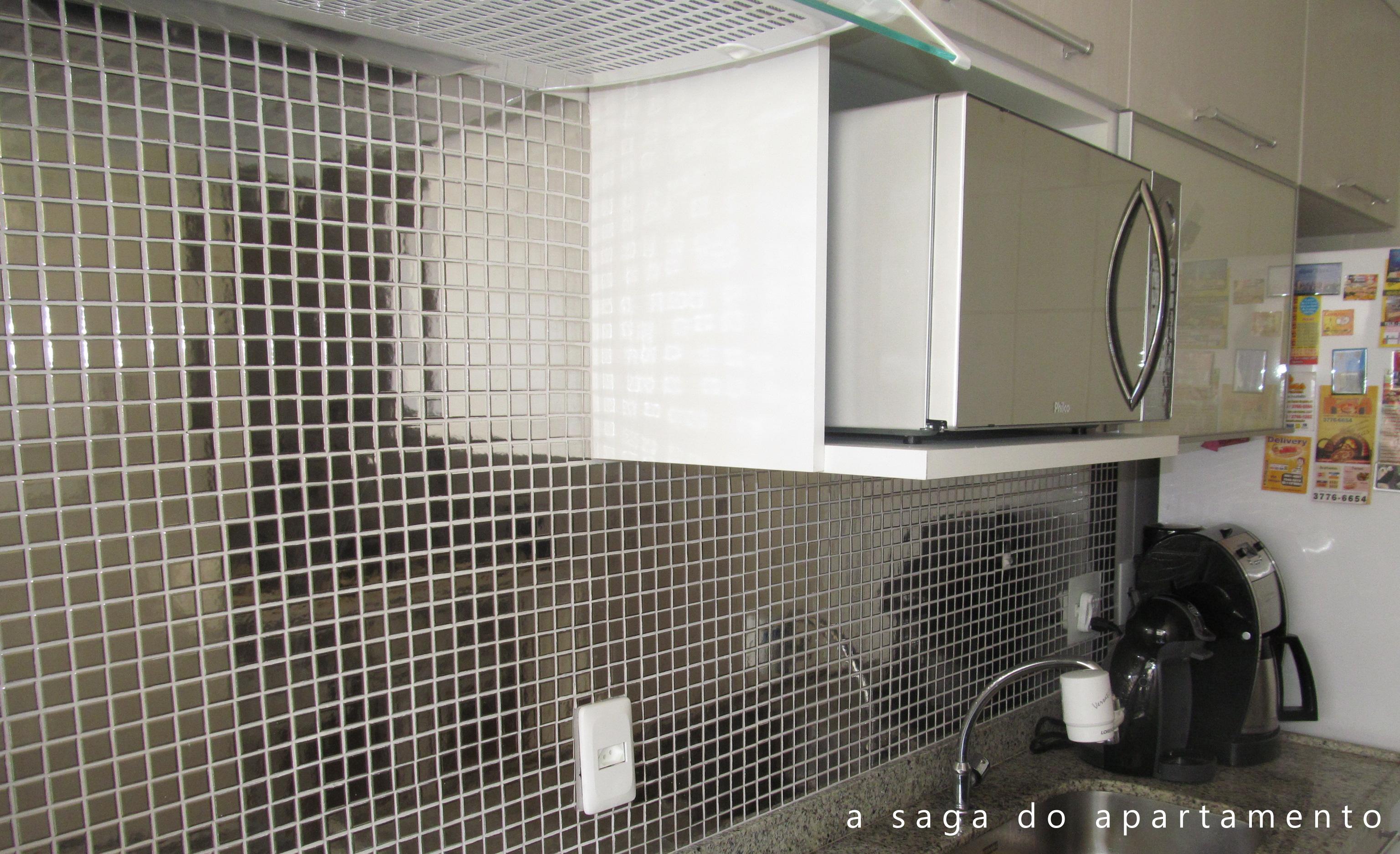 Pastilhas de Vidro parte 4: Pastilhas Inox na Cozinha #665F4D 3072 1873
