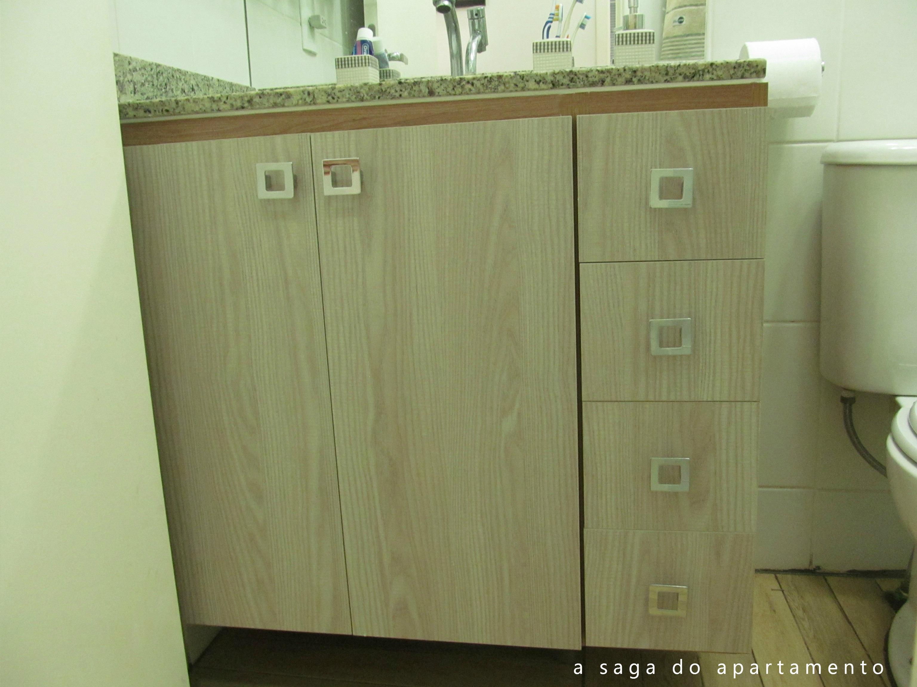notável Armário Planejado do Banheiro a saga do apartamento #5C5230 3072 2304