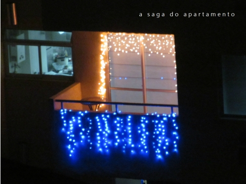 varanda decorada natal