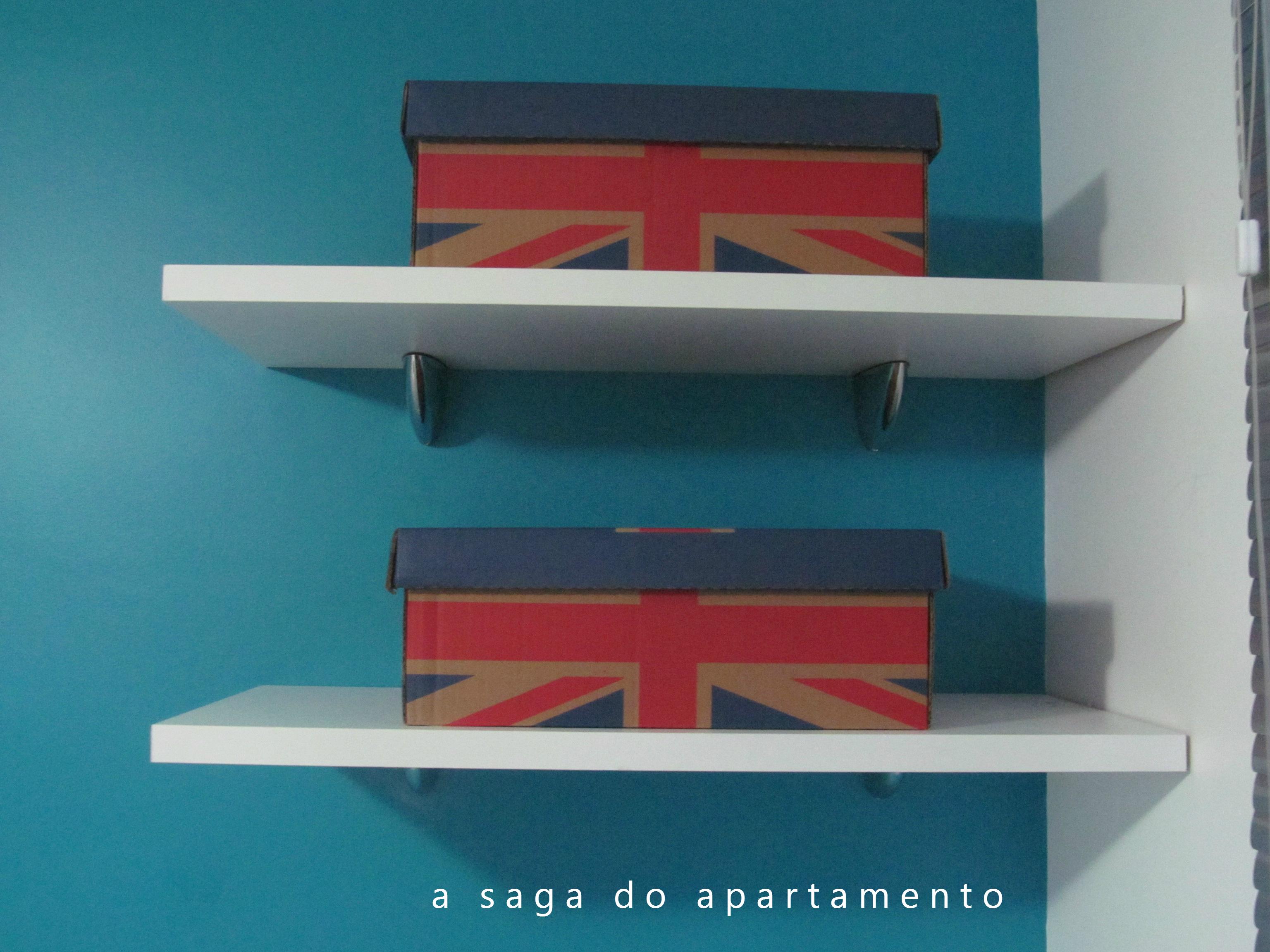 Quarto: Prateleiras Caixas Organizadoras Painel de Madeira etc #1C4F61 3072x2304