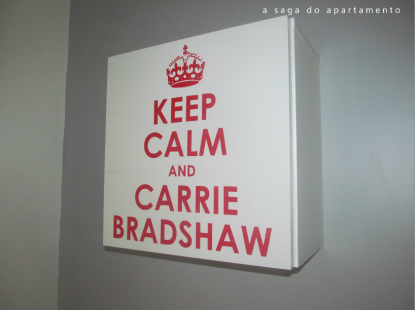 keep calm carrie bradshaw