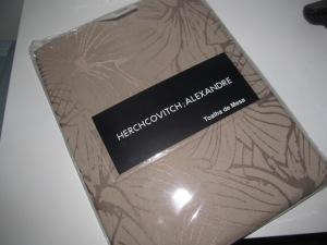 toalha mesa floral alexandre herchcovitch