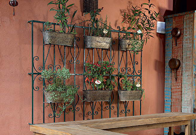 grades madeira jardim:Vertical Garden Ideas