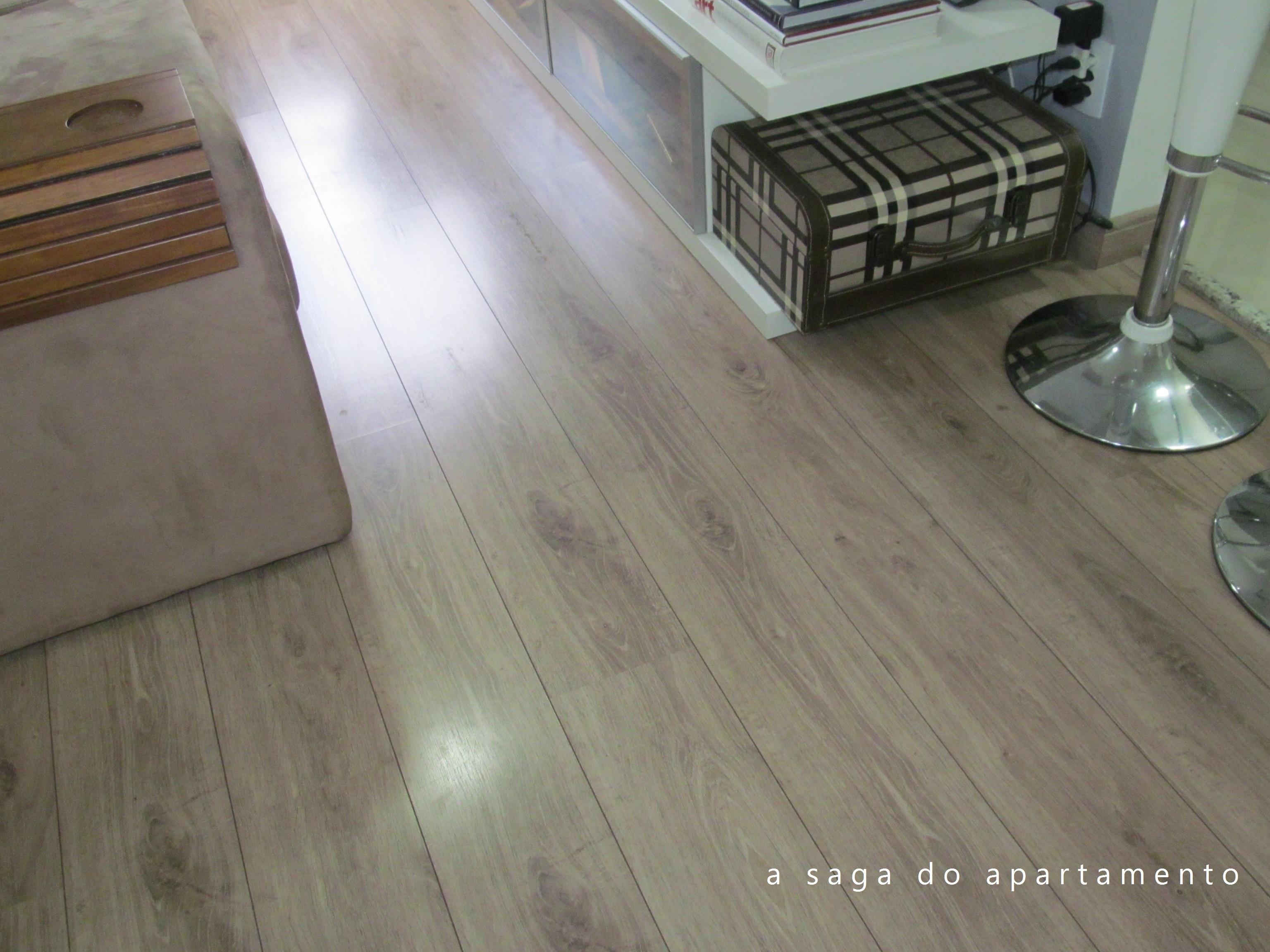 Reavalindo a compra do piso laminado durafloor pallas for Pisos para apartamentos pequenos