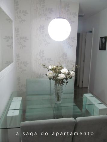 pendente sala de jantar lampada fluorescente