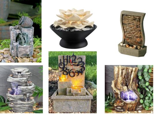 fontes decorativas de mesa