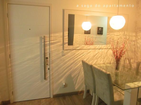 sala de jantar porta laqueada