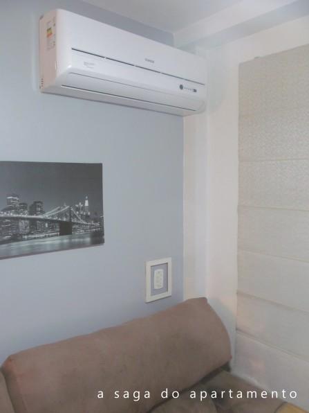 split na sala sem quebrar parede