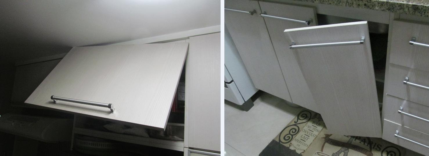 cozinha pequena  a saga do apartamento # Armario De Cozinha Feito De Gesso