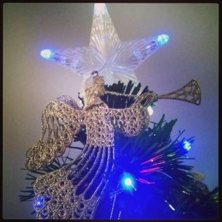 ponta árvore estrela