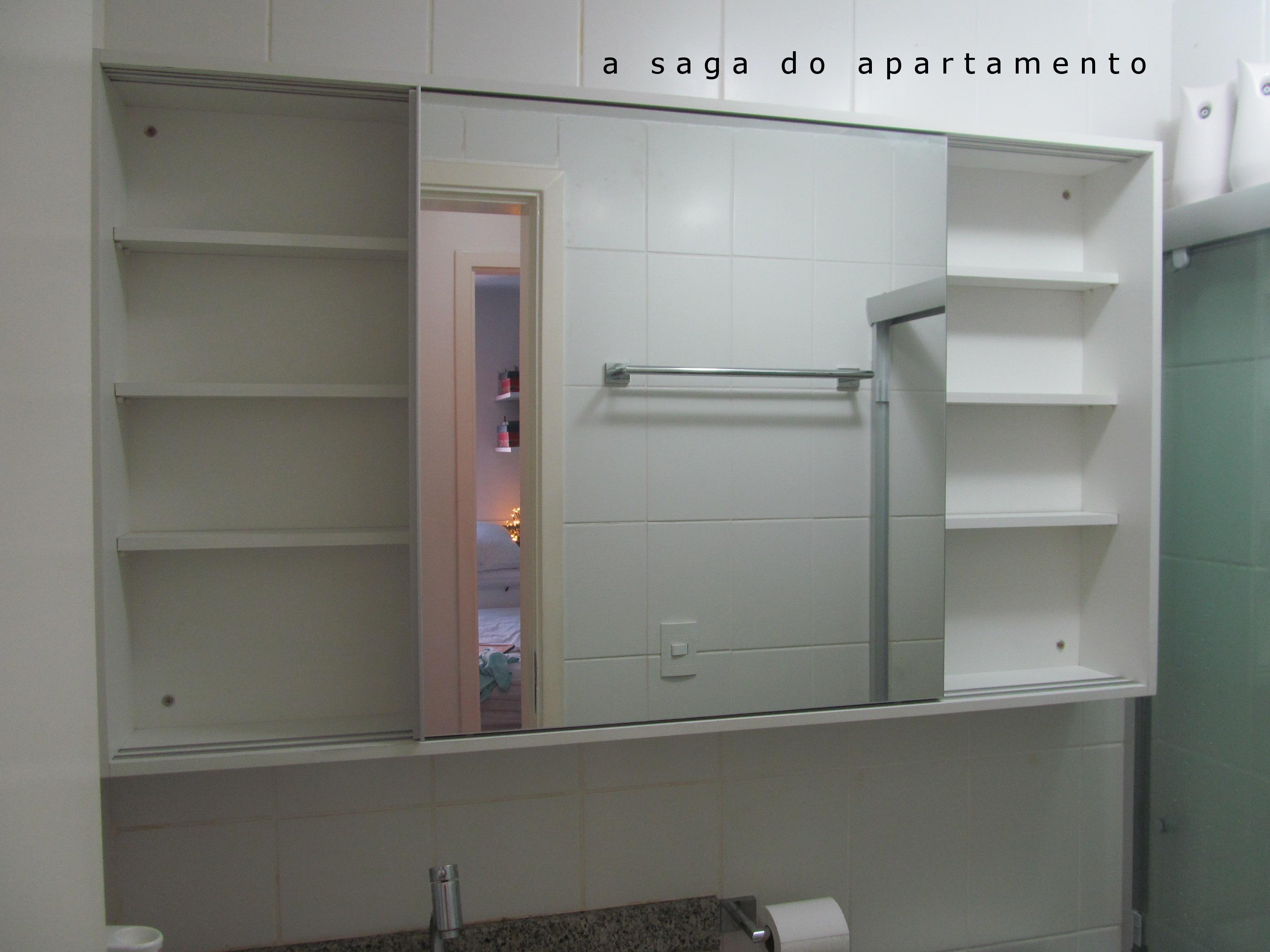 armário banheiro  a saga do apartamento -> Armario De Banheiro Com Chave