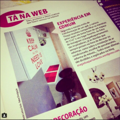 a saga do apartamento revista