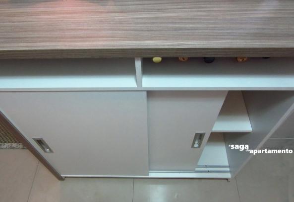 bancada armario cozinha americana