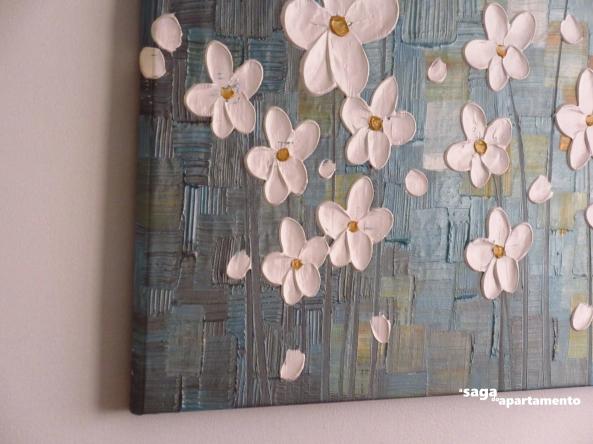 tela colorida quadro sala