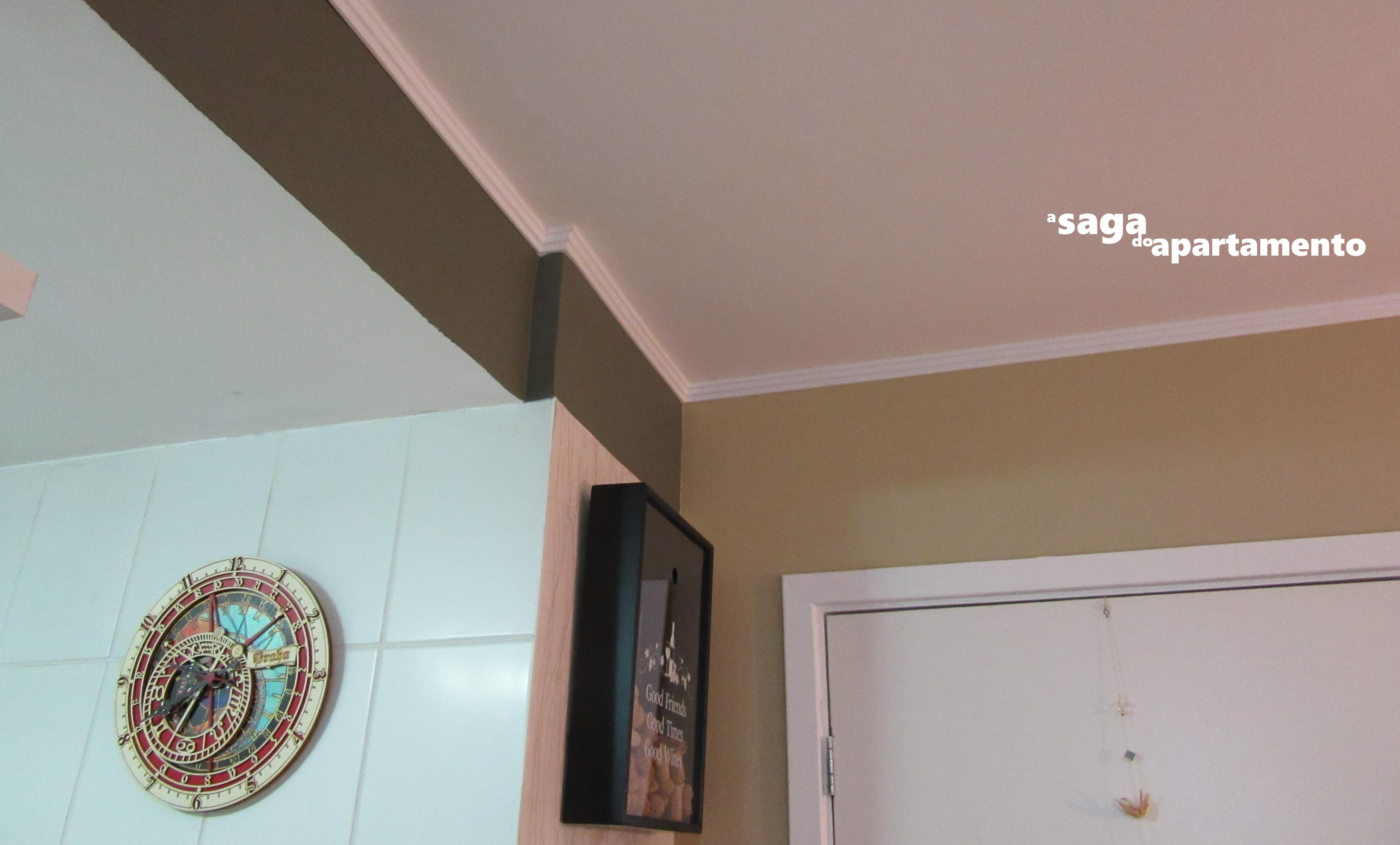 K1 Moldura A Saga Do Apartamento -> Modelo De Forro Rebaixado Em Apartamentos 51M2
