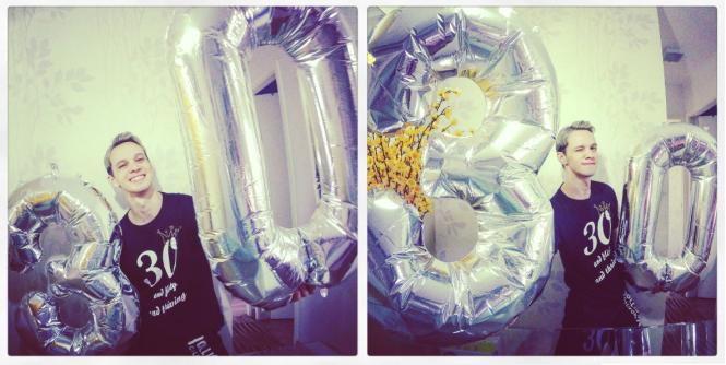 30 anos baloes