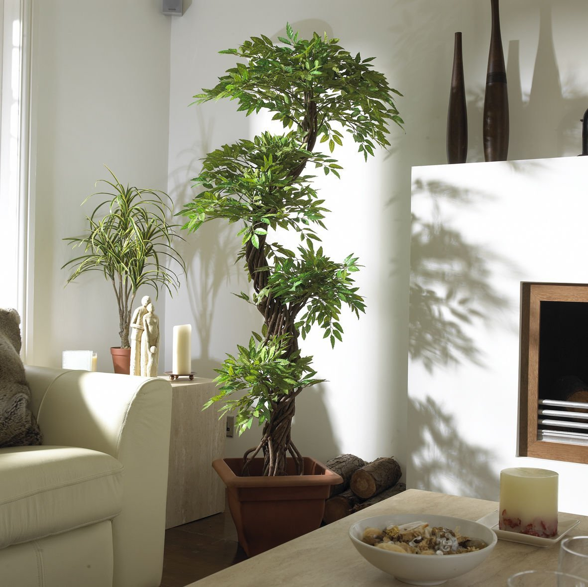 Plantas artificiais a saga do apartamento - Plantas artificiales decorativas ...