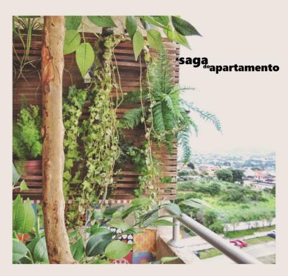 jardim vertical verde