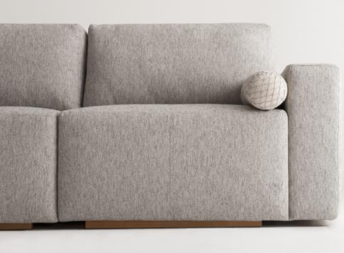 sofá linho