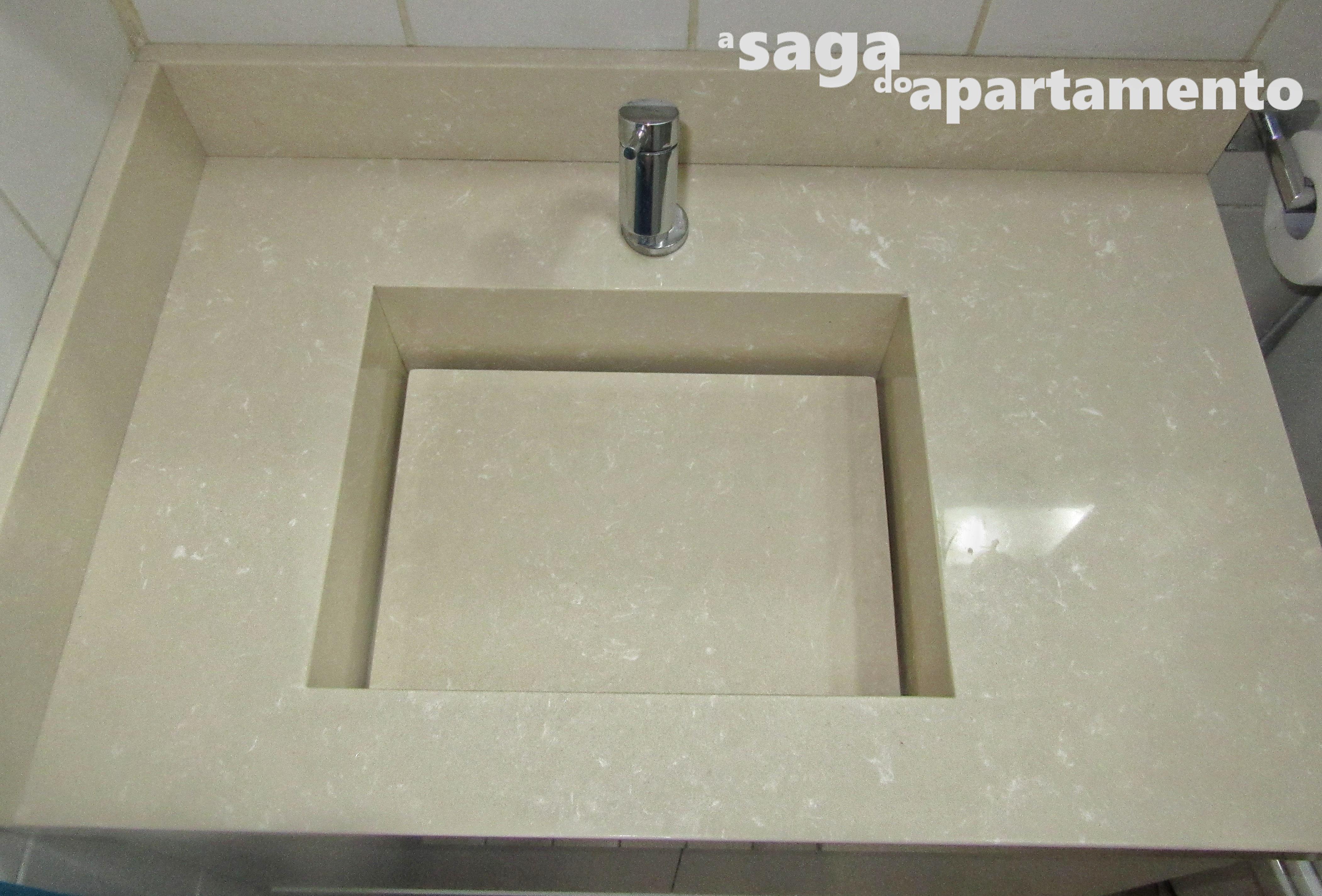 Reforma do Banheiro parte 1: Bancada de Mármore com Cuba Esculpida  #737158 4201x2847 Banheiro Com Granito Bege Prime